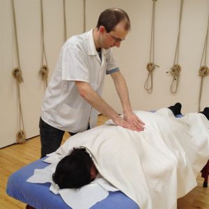 Photo of practitioner Alan McIntyre at work